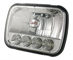 90951-5 – Grote 5×7 LED Sealed Beam Replacement Headlight