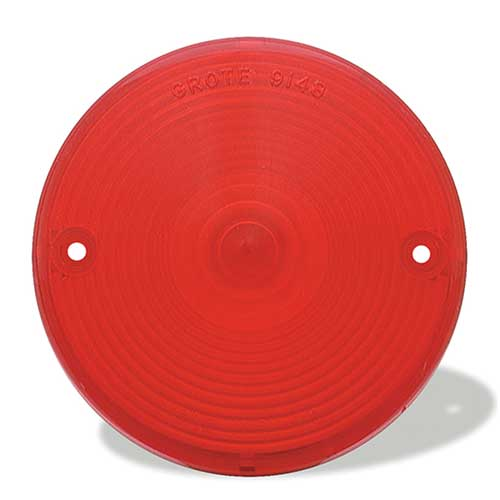 91482 – Stop Tail Turn Replacement Lens, Red