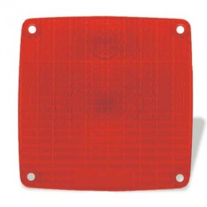91502 – Stop Tail Turn Replacement Lens, Pedestal, Red