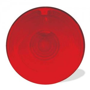 91582 – Stop Tail Turn Replacement Lens, Red