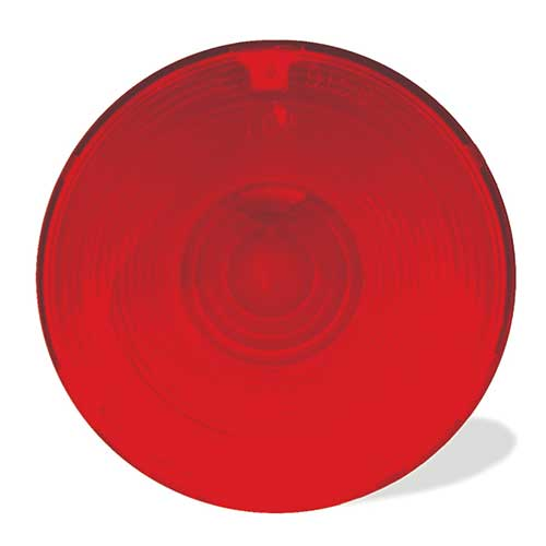 Grote Industries - 91582 – Stop Tail Turn Replacement Lens, Red