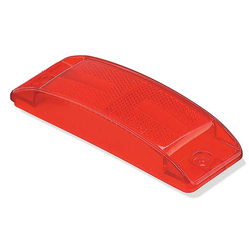 92172 – Clearance Marker Replacement Lens, Field Resalable, Red
