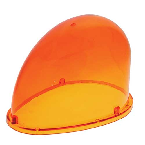 92453 – Warning & Hazard Replacement Lens, Teardrop, Yellow
