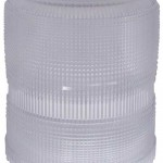 Warning & Hazard Replacement Lens, High Profile/Intensity Smart Strobe, Clear