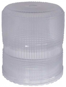 93001 – Warning & Hazard Replacement Lens, High Profile/Intensity Smart Strobe, Clear