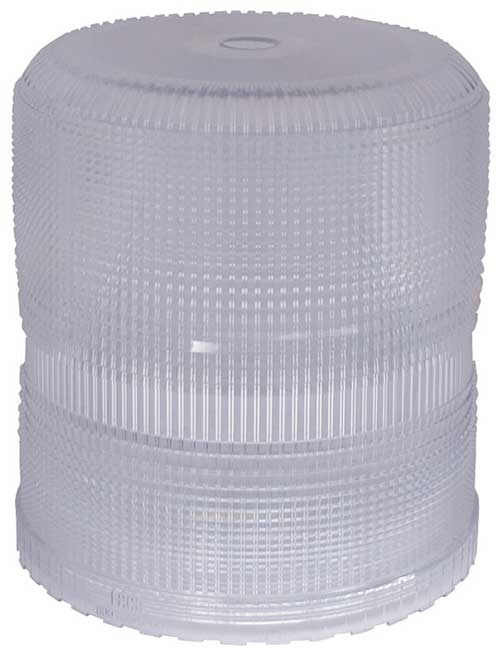 Grote Industries - 93001 – Warning & Hazard Replacement Lens, High Profile/Intensity Smart Strobe, Clear