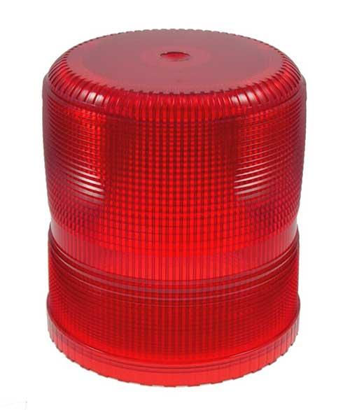 93002 – Warning & Hazard Replacement Lens, Medium & High Profile Strobe, Red