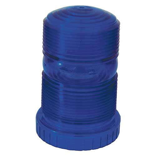 93015 – Warning & Hazard Replacement Lens, Material Handling Strobe, Blue