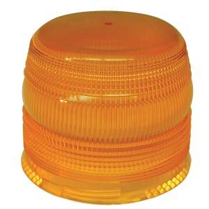 93383 – Warning & Hazard Replacement Lens, Flexible-base Strobe, Yellow