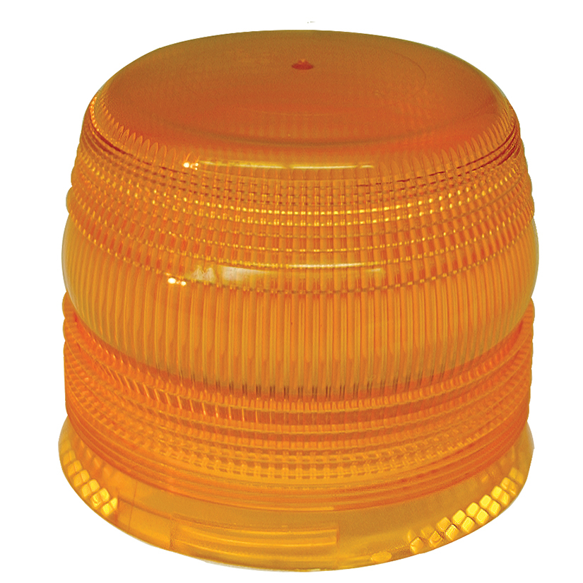 Grote Industries - 93383 – Warning & Hazard Replacement Lens, Flexible-base Strobe, Yellow