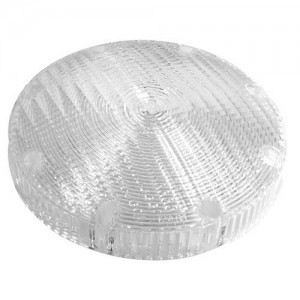 93891 – Interior Lighting Replacement Lens, 7″ Surface Mount Dome, Clear