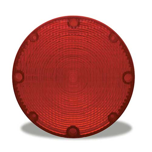 99842 – Stop/Tail/Turn Replacement Lens, 7″ School Bus, Red