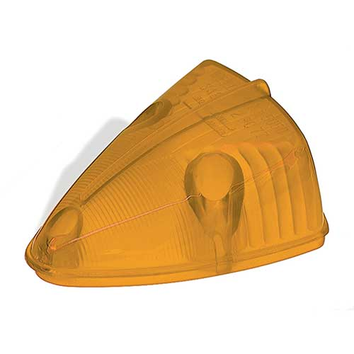 99913 – Clearance Marker Replacement Lens, School Bus Wedge, Yellow