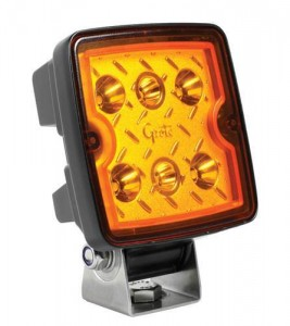 63E23 – Trilliant® Cube LED Work Light, 1200 Lumen, 10V/24V, Flood