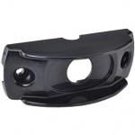 Surface Mount Bracket For MicroNova® Or MicroNova® Dot, Oval Mini Marker, Black