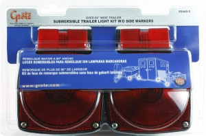 65440-5 – Submersible Trailer Lighting Kit for Trailers Over 80″ Wide, Stop Tail Turn Light Kit
