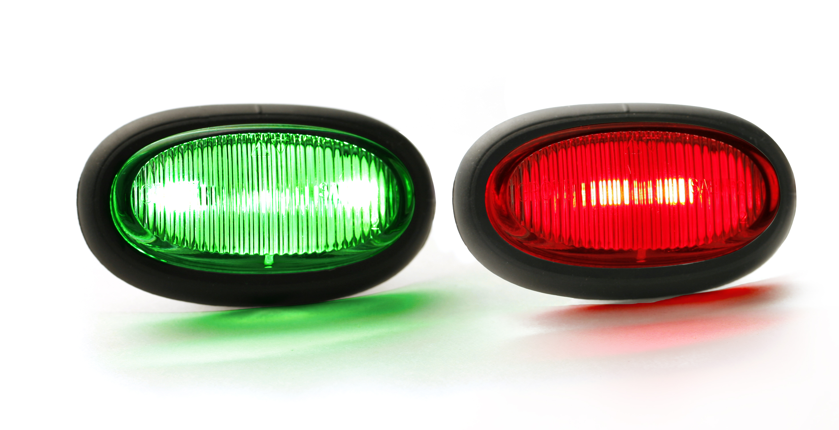 Grote Industries - 49460 – MicroNova® LED Indicator Light, Red/Green