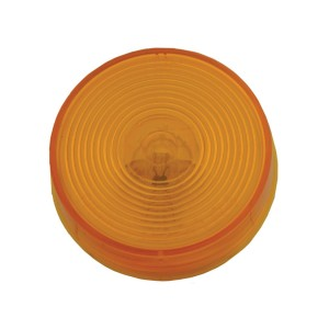 45813 – 2 1/2″ Clearance Marker Light, Optic Lens, Yellow, 12V