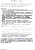 Grote-Garantieprogramm – Wilson-Anhänger 06-30-14