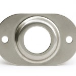 Stainless Steel MicroNova® Dot Security Plate
