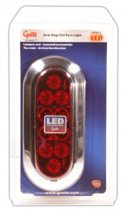Oval LED Stop Tail Turn Lights