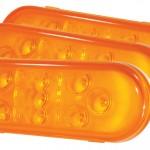 Luces LED de frenado/traseras/direccionales ovaladas SuperNova®, 9 diodos