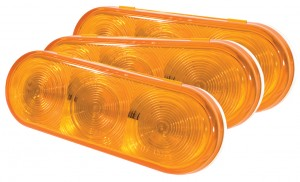54163-3 – SuperNova® NexGen™ Oval LED Stop Tail Turn Light, Yellow, Bulk Pack