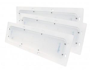 61261-3 – LED WhiteLight™ Recessed Mount 18″ Dome Light, Standard Output, 10 Diodes, 800 Lumens, White, Bulk Pack