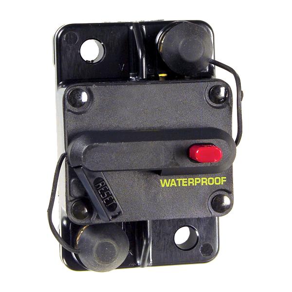 Grote Industries - 82-2216 – High Amperage Thermal Circuit Breaker, Single Rate, 60A