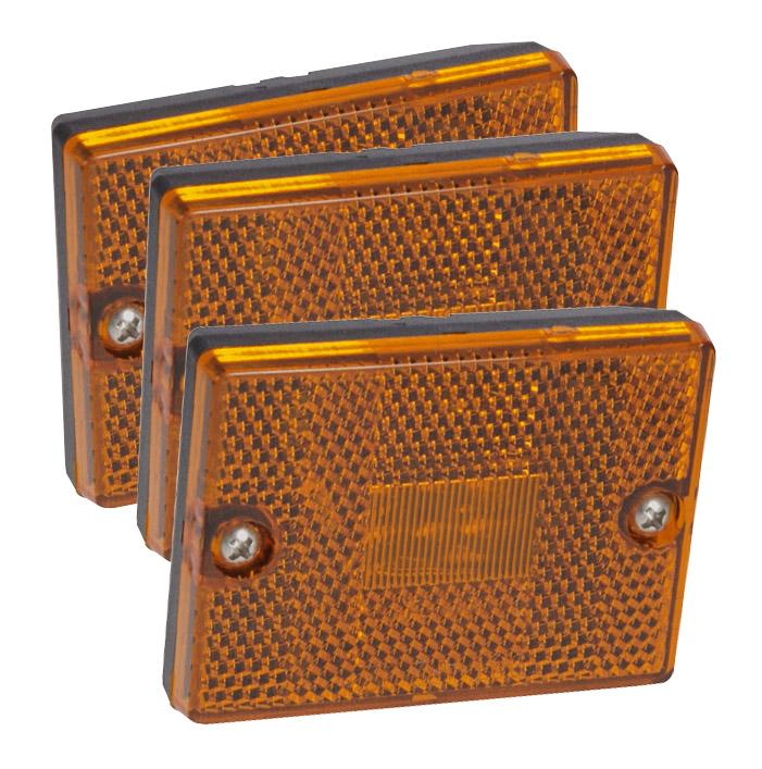 47853 3 replacement led side marker lights for trialer kits. Black Bedroom Furniture Sets. Home Design Ideas