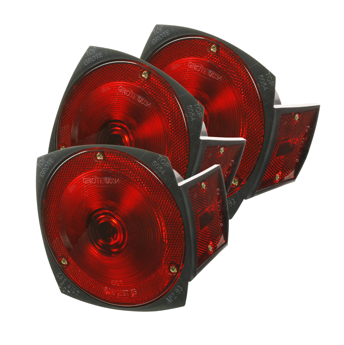 50542-3 – Trailer Lighting Kit with Side Marker Light, RH Replacement, Red, Bulk Pack