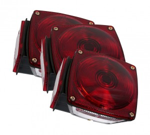 52312-3 – Trailer Lighting Kit, LH Stop Tail Turn Replacement, Red, Bulk Pack