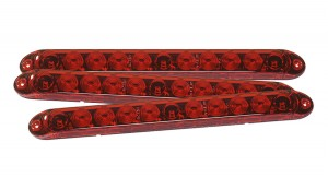 53582-3 – 15″ LED Center Mount Stop Light, Red, Bulk Pack