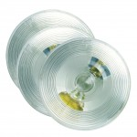 torsion mount ii round dome light female pin white bulk pack