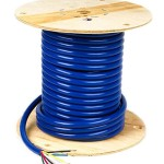 4/12 & 2/10 & 1/8 Gauge 100' Spool Low Temp 7 Conductor Trailer Cable