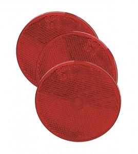 40092-3 – Sealed Center-Mount Reflector, Red, Bulk Pack