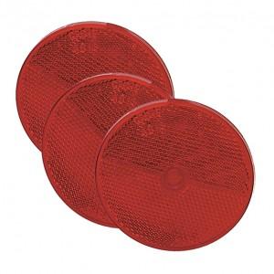 40152-3 – Sealed Center-Mount Reflector, Red, Bulk Pack