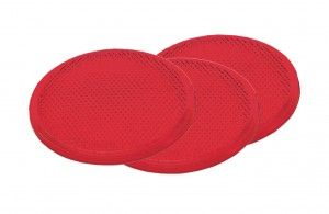 41002-3 – Round Stick-On Reflector, 2″ Red, Bulk Pack