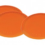 Yellow Round Stick-On Reflector Bulk Pack