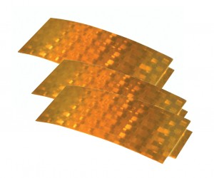 41153-3 – Stick-On Tape Reflectors, Yellow, Bulk Pack