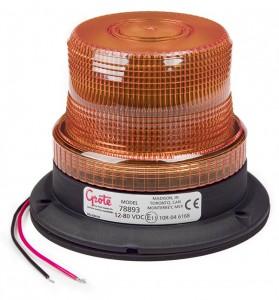 78893 – Mighty Mini LED Strobe, Permanent Mount, Amber