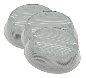90221-3 – License Backup Replacement Lenses, OE Style, Clear, Bulk Pack