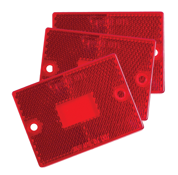 91112-3 – RV, Marine & Utility Replacement Lenses, Red, Bulk Pack