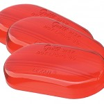 clearance marker replacement lenses two bulb oval red bulk pack