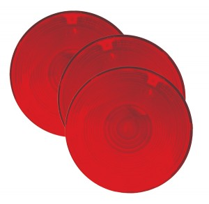 91582-3 – Stop Tail Turn Replacement Lens, Red, Bulk Pack
