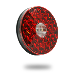 4 inch round LED Stop Tail Turn Light with Back-up