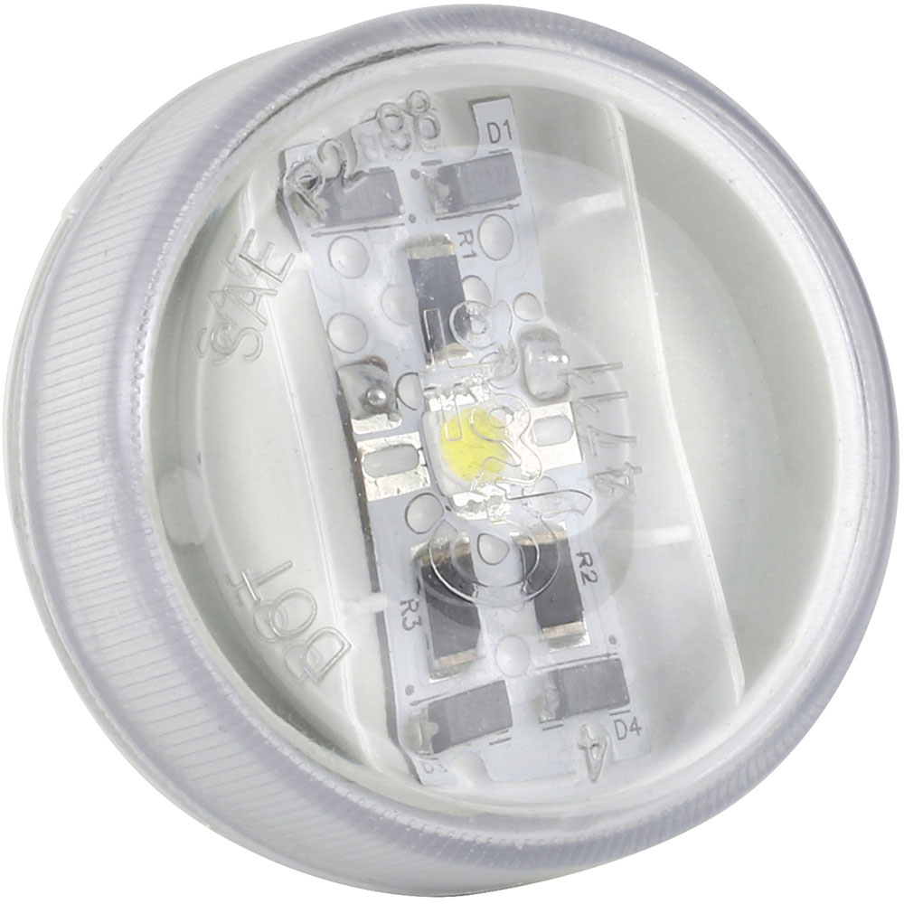 60561-3 – 2″ LED Interior Courtesy Lights, White, Bulk Pack