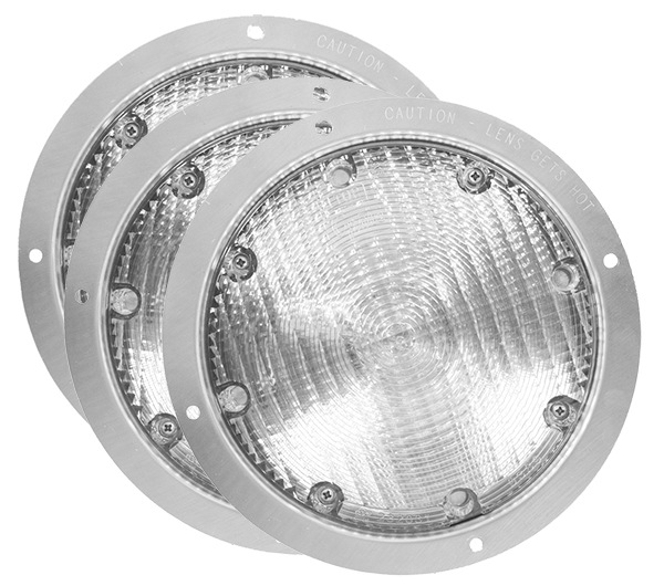 Grote Industries - 63061-3 – Semi-Recessed Utility Light, Clear, Bulk Pack