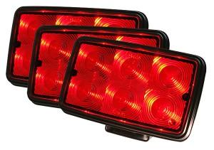 63602-3 – Trilliant® Mini LED Work Light, Red LEDs, 135 Lumens, Spot, Bulk Pack