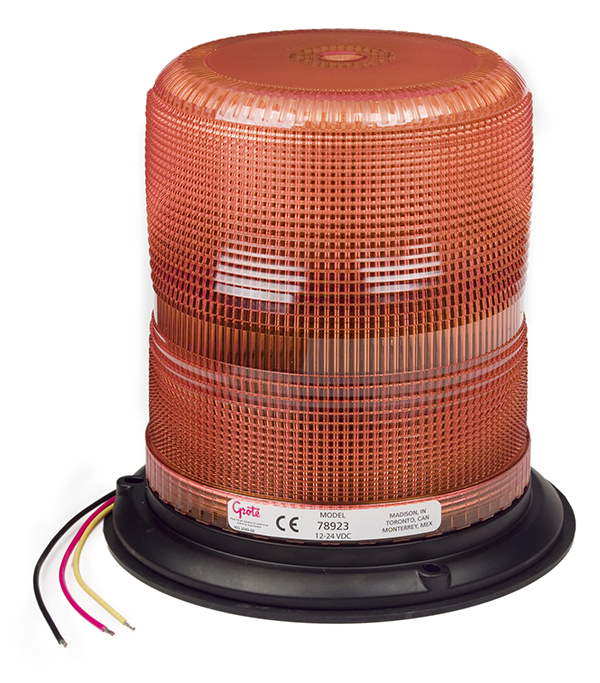 78923 – Heavy Duty LED Strobe, 7″, Amber